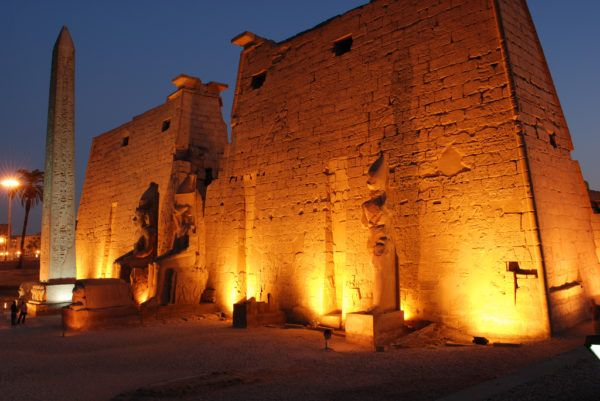 Luxor at Night- a must when you visit Egypt