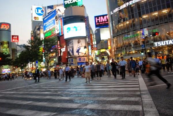 Shibuya Crossing, Tokyo, Japan