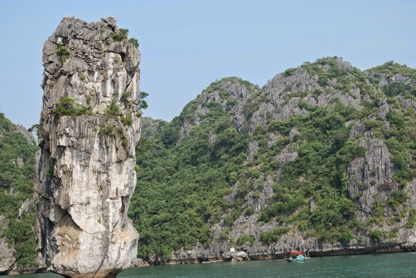 Karst Peaks of Halong Bay, Vietnam