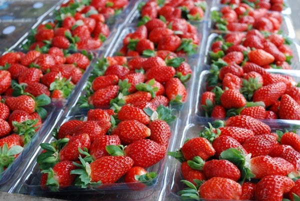 Strawberries in Malaysia