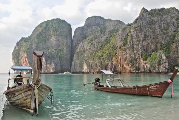 Maya Bay in the Koh Phi Phi Islands