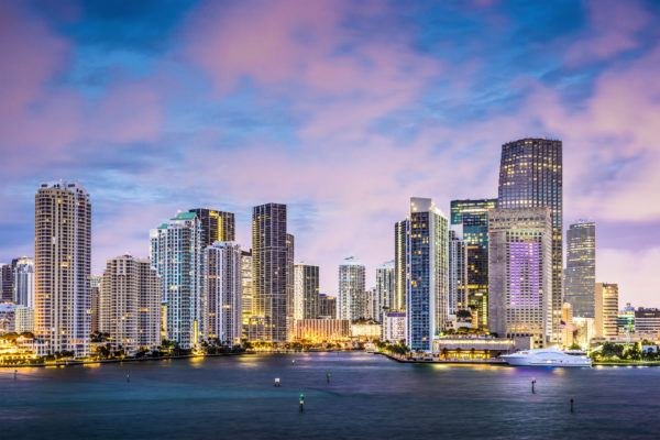 Places to Go in Miami to see the Skyline