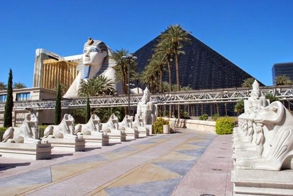 Luxor Hotel in Las Vegas Nevada