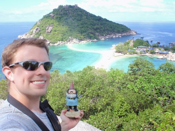 Gorgeous lookouts in Ko Tao, Thailand