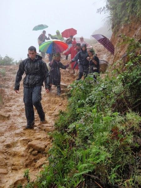 Rainy Sapa, Vietnam