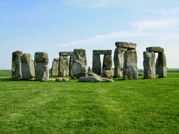 Stonehenge in the Spring from London, England