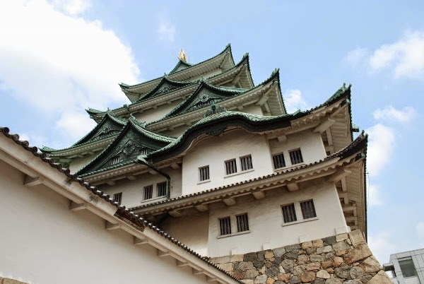 Nagoya Castle in Japan