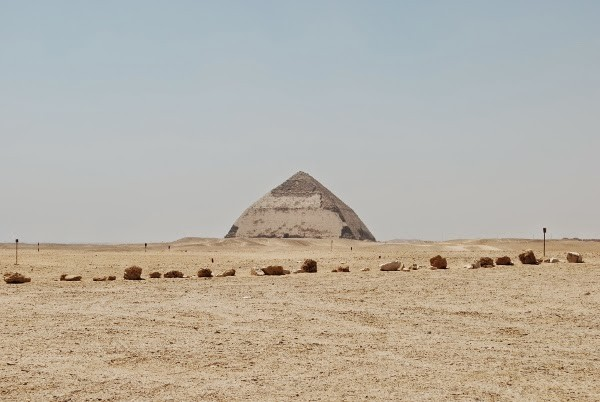 The Bent Pyramid of Dahshur, Egypt