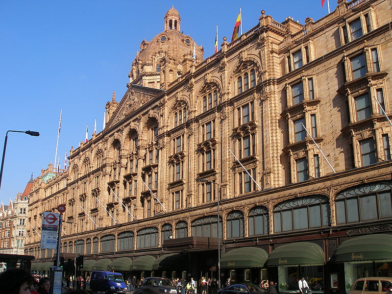 Harrods Department Store - London, England