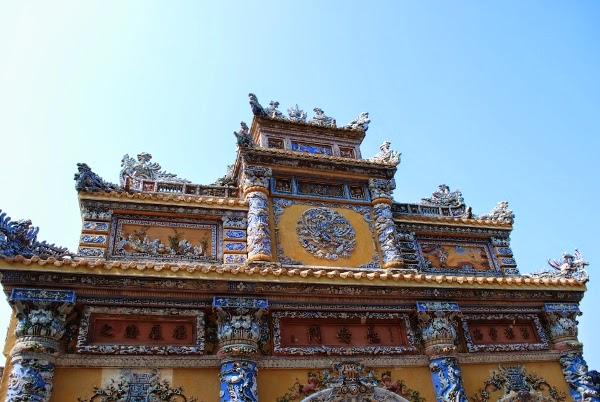 Tombs in Hue, Vietnam