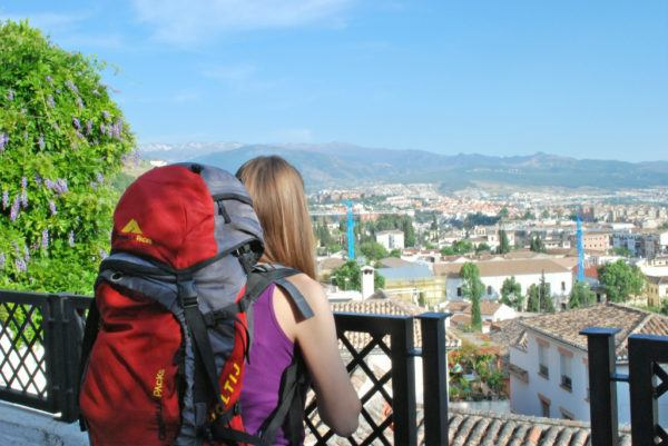 Granada Spain seen after buying Renfe Spain train tickets