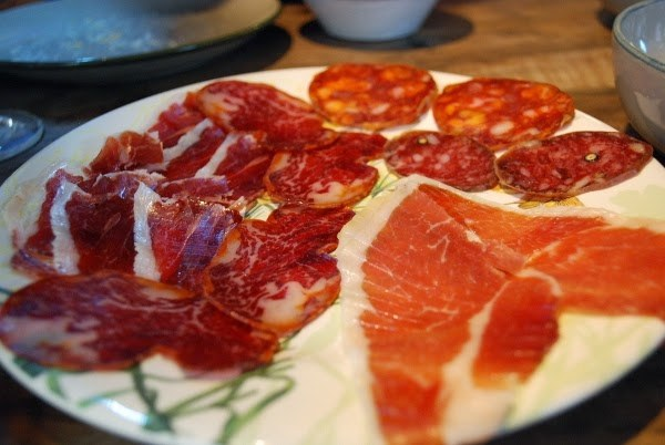 Jamon at La Oliva
