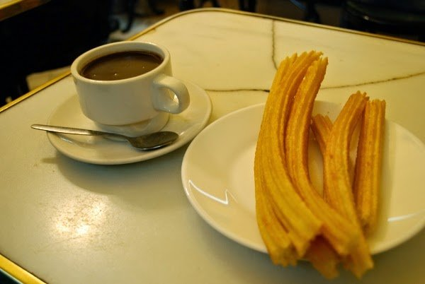 Churros, churros everywhere.
