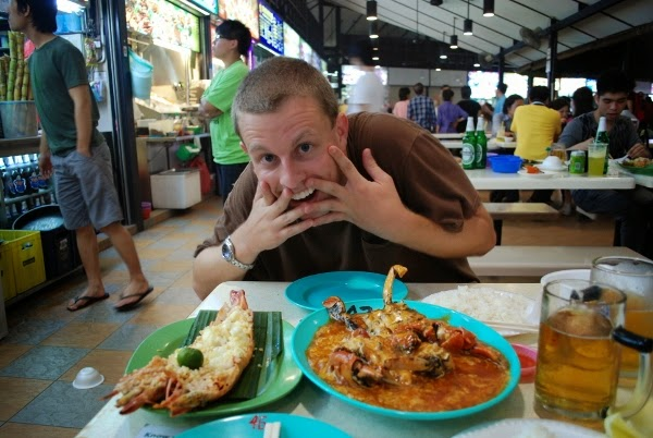 Newton Street is one of the best hawker centres in Singapore