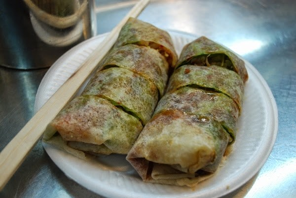 Popiah at a Hawker Center