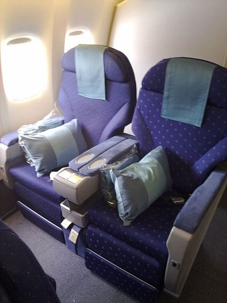 Business Class Seats - Short Haul - United Airlines