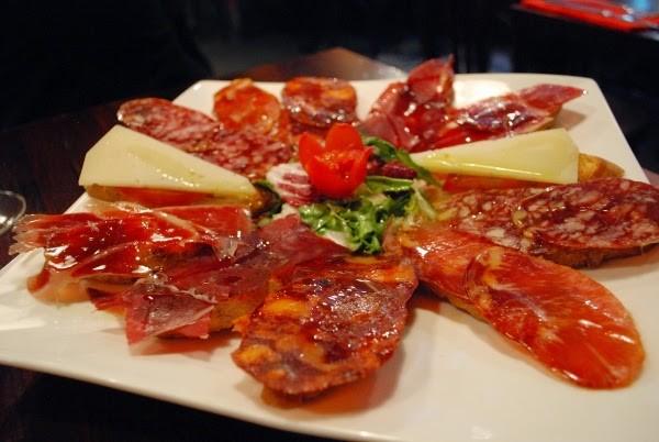 Gorgeous Spanish ham