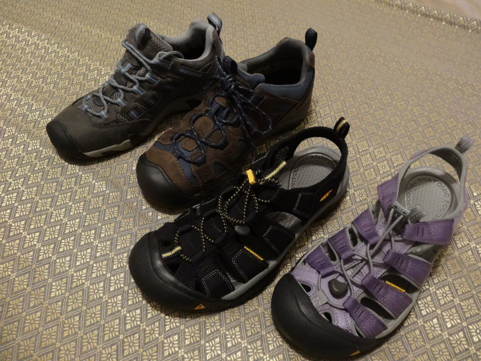 KEEN Footwear and KEEN flipflops for world travelers