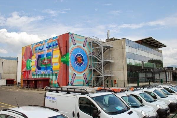 CERN Lab in Geneva, Switzerland
