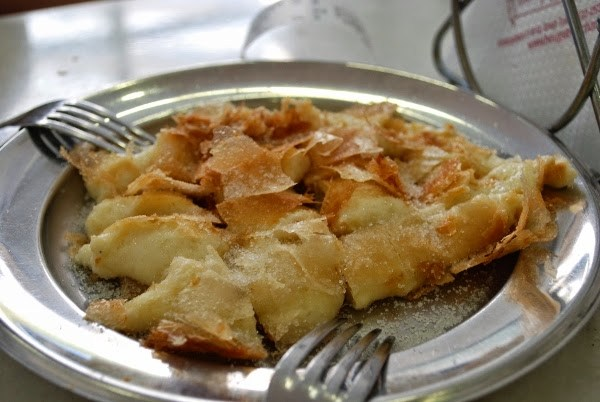 Bougatsa is one of our favorite Greek pastries