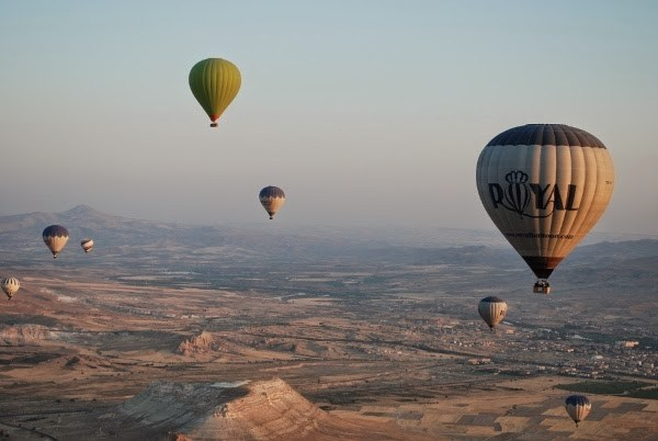 Royal Balloon hot air ballooning in Cappadocia, Turkey