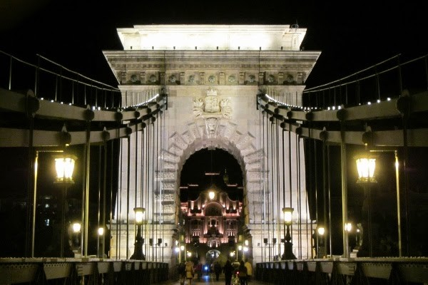 Budapest Bridges at Night