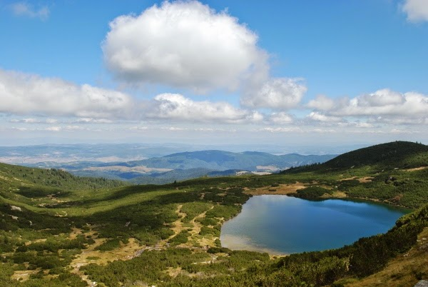 One of the Seven Lakes in Rila, Bulgaria