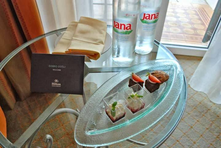 Welcome Treats from the Hilton Imperial Dubrovnik