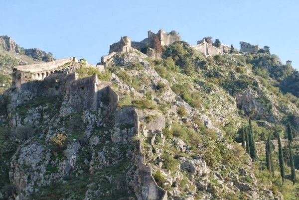 Fortress of Kotor, Montenegro