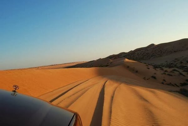 Dune Bashing in the Wahiba Sands