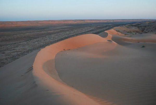 Sunset Over the Omani Desert
