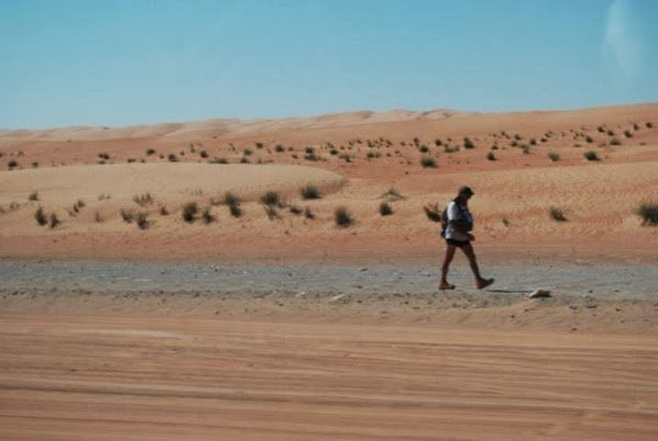 Getting to the Wahiba Sands