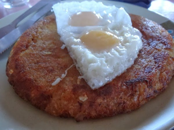 Swiss Rosti with Egg on Everest Base Camp Trek