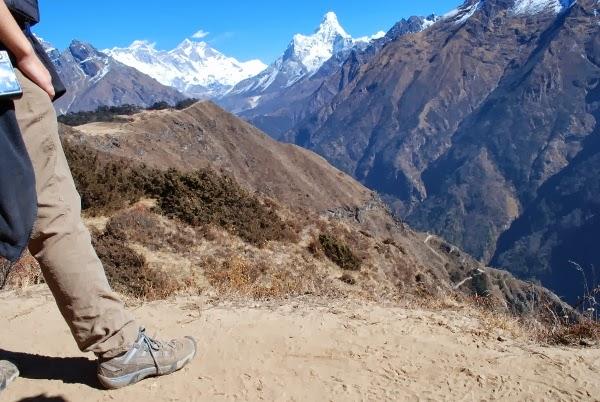 KEEN Shoes on Everest Base Camp trek