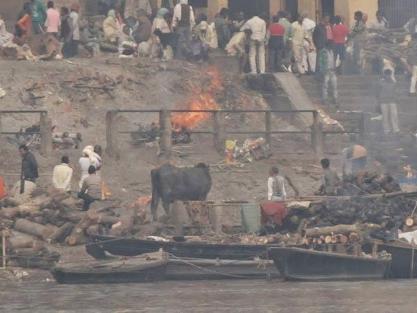 Burning Bodies in Varanasi