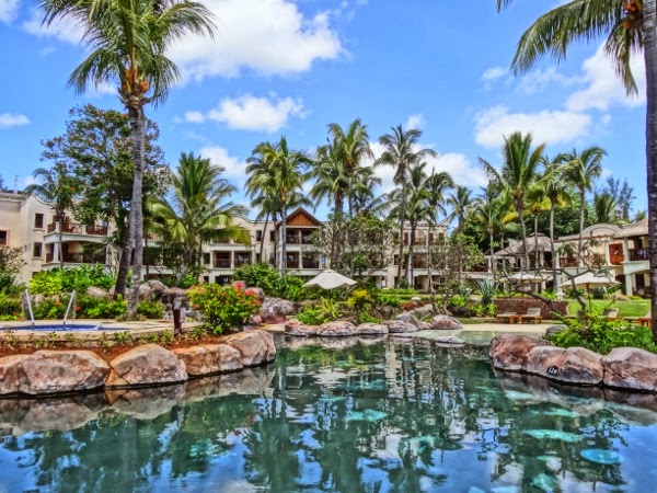 The Hilton Mauritius has a stunning property