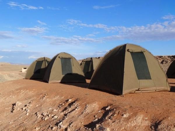 Gorgeous campsite in Namibia.