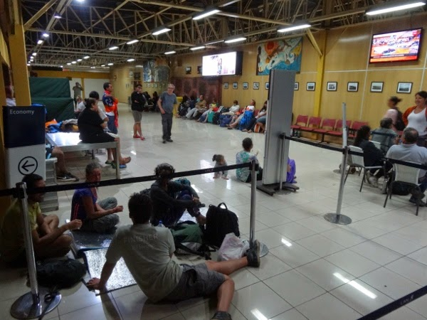 Tsunami Evacuation #2 on Easter Island - The Airport