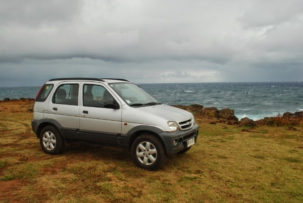 Easter Island Rental Cars with Insular Rent a Car