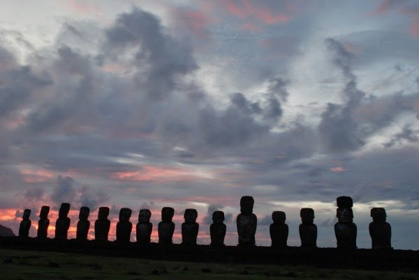 Sunrise at Ahu Tongariki - Easter Island Travel