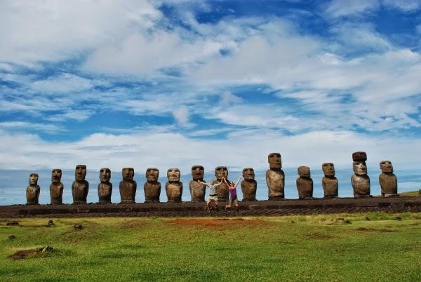 Visit Easter Island - Ahu Tongariki
