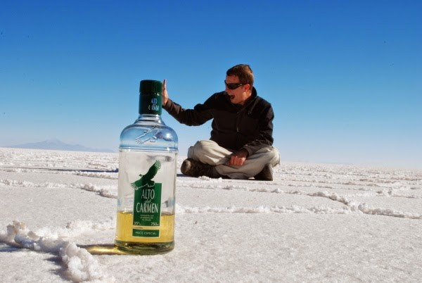 Jeremy's Uyuni Salt Flat dream come true!