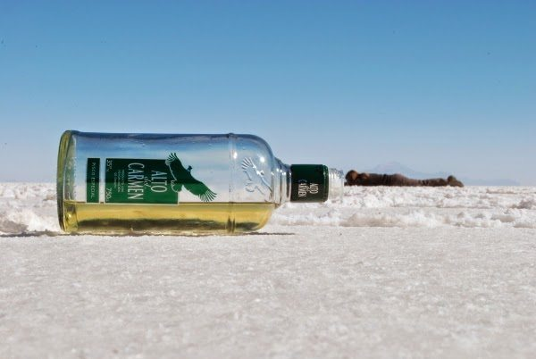 Angie really wants that Pisco in Uyuni