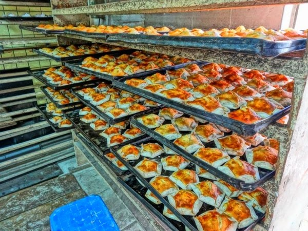 So many quesadillas! A great food to try in Quito