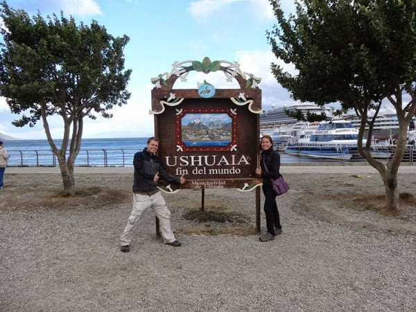 The start of our overland journey in South America: Ushuaia, Argentina - February 2014