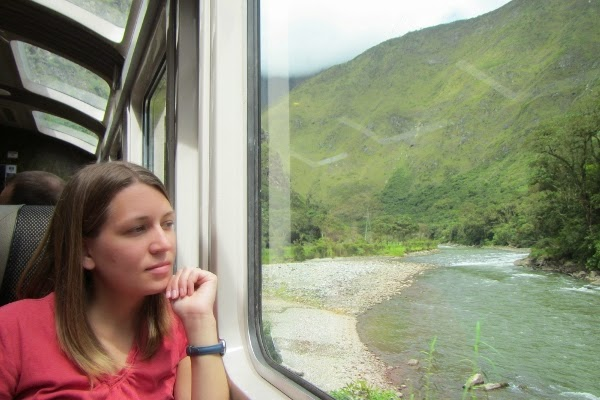 We did take one train, out to Machu Picchu and back.