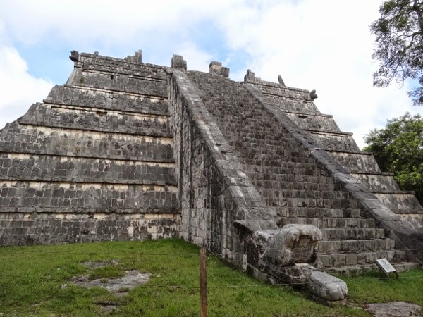 Ruins in the Yucatan region of Mexico