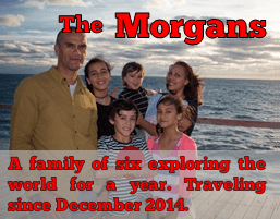 The Morgans from Morgans Go Travelling