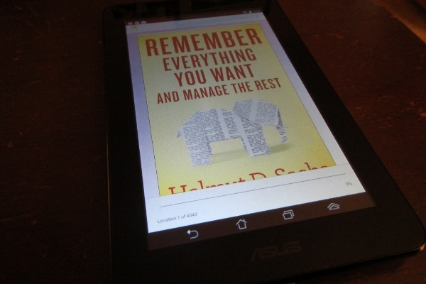 Remember Everything You Want Kindle
