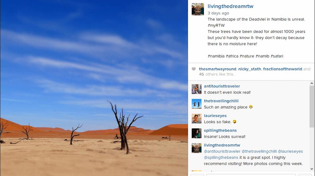 Instagram Update Standard
